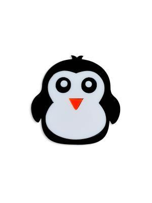 Пингвин Сплетница. Цвет: черный, белый, оранжевый