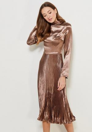 Платье Cavo. Цвет: золотой