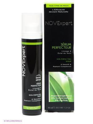 Разглаживающая сыворотка для лица Идеальная кожа, 40 мл. Novexpert. Цвет: черный