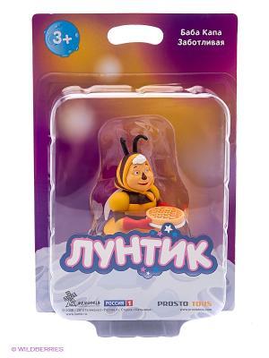 Баба Капа Заботливая  серия Лунтик и его друзья ProstoToys. Цвет: желтый, коричневый