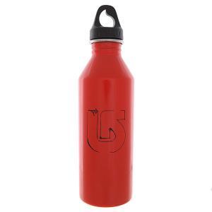 Бутылка для воды  Burton M8 Process Scribble Glossy Red Black Print Mizu. Цвет: красный