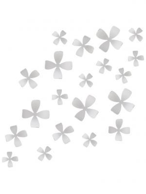 Декор для стен Wallflower Umbra. Цвет: белый
