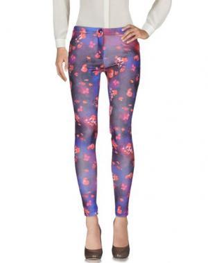 Повседневные брюки TEE-TREND. Цвет: фиолетовый