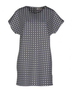 Короткое платье LOU LONDON. Цвет: синий