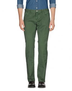 Повседневные брюки COCHRANE. Цвет: зеленый
