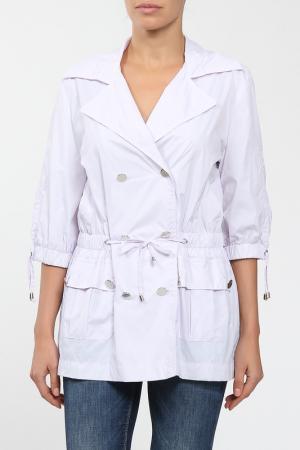Куртка M&L Collection. Цвет: белый