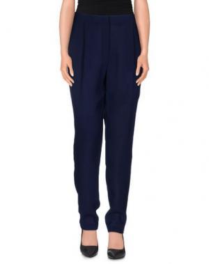 Повседневные брюки MYF. Цвет: темно-синий