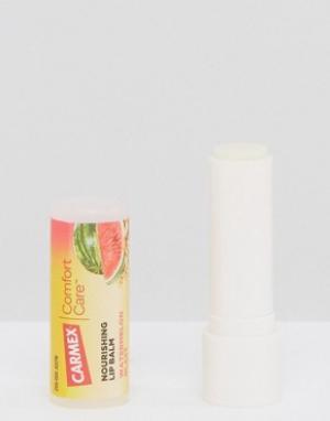 Beauty Extras Питательный бальзам для губ Carmex Comfort Care. Цвет: бесцветный