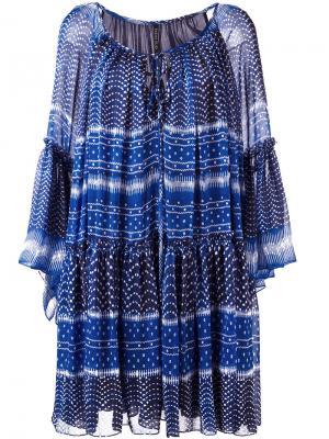 Платье со сборками Plein Sud. Цвет: none