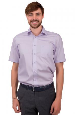 Рубашка с коротким рукавом Casa Moda. Цвет: сиреневый
