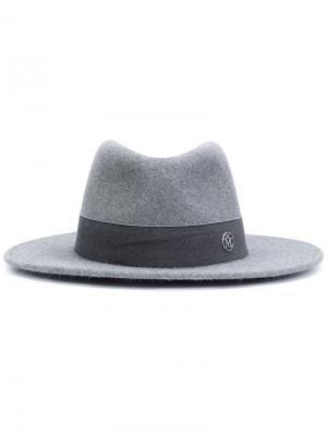 Шляпа Thadee Maison Michel. Цвет: серый