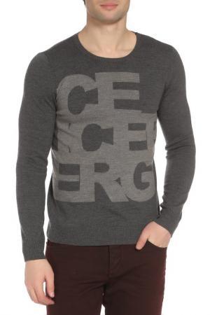 Пуловер Ice Iceberg. Цвет: серый