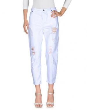 Джинсовые брюки SCOUT. Цвет: белый