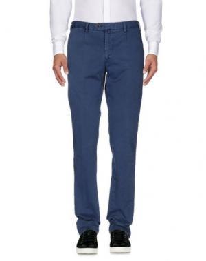 Повседневные брюки EREDI RIDELLI. Цвет: грифельно-синий