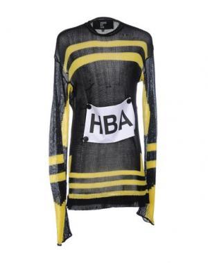 Свитер HBA HOOD BY AIR. Цвет: черный
