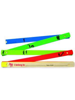 Складная линейка Kids Life Meter Donkey. Цвет: синий, оранжевый, желтый