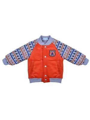 Куртка Бимоша. Цвет: оранжевый