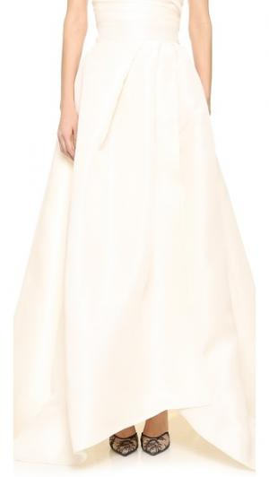 Бальная вечерняя юбка Capri Monique Lhuillier. Цвет: розовый