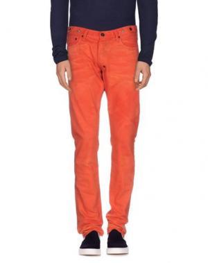 Джинсовые брюки PRPS. Цвет: оранжевый