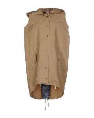 Легкое пальто (+) PEOPLE. Цвет: песочный