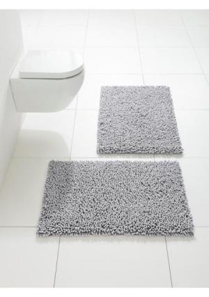 Коврик для ванной Heine Home. Цвет: белый, нежно-зеленый, серо-коричневый, серый