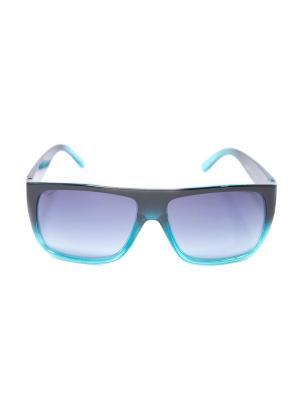 Солнцезащитные очки Mitya Veselkov. Цвет: черный, голубой