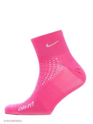 Носки NK RUN-ANTI-BLST LTWT QTR-SMLX Nike. Цвет: лиловый, бледно-розовый, розовый