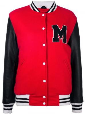 Спортивная куртка Manokhi. Цвет: красный