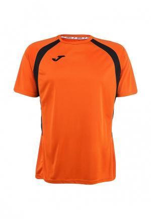 Футболка спортивная Joma. Цвет: оранжевый