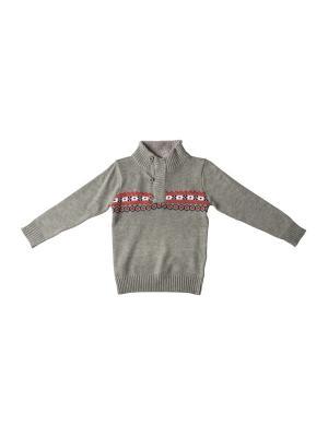 Джемпер DAMY-M. Цвет: серый