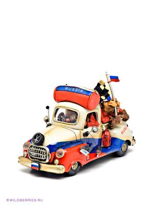 Машина Russia Road Trip The Comical World of Stratford. Цвет: белый (осн.), синий, красный