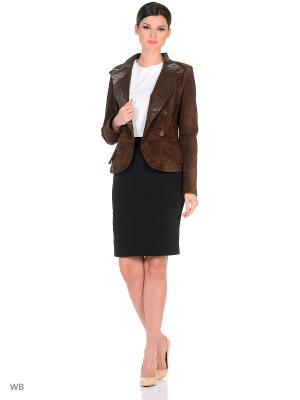 Куртка SEVILLA. Цвет: коричневый