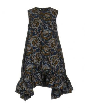 Короткое платье JOURDEN. Цвет: синий