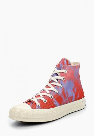 Кеды Converse. Цвет: коралловый