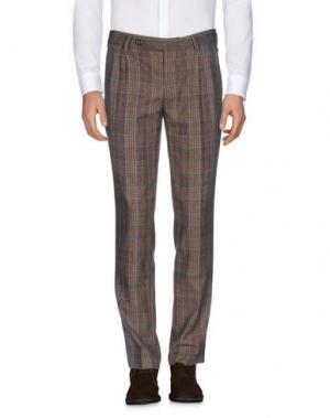Повседневные брюки AGLINI. Цвет: хаки