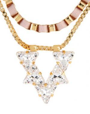 Ожерелье JOHN & PEARL. Цвет: светло-розовый