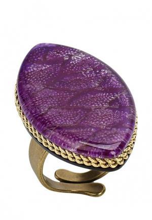 Кольцо Nature bijoux. Цвет: фиолетовый