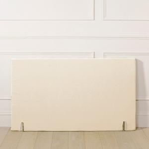 Чехол для изголовья прямоугольной формы La Redoute Interieurs. Цвет: серо-коричневый каштан,экрю