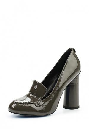 Туфли Velvet. Цвет: серый