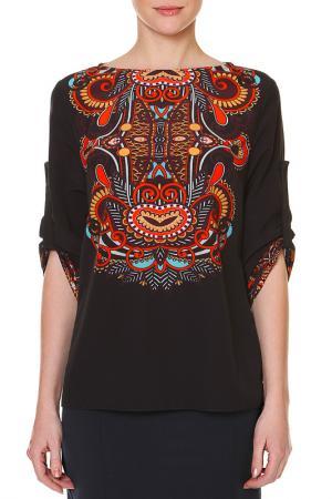 Блузка SWEETME TM. Цвет: черный