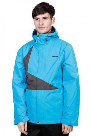 Куртка  Snow Jacket Vega Men Blue/Dark Grey Zimtstern. Цвет: голубой,черный