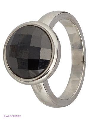 Кольцо Митра Ювелир. Цвет: черный, серебристый