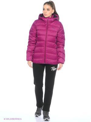 Куртка ESS Hooded Down Jacket Puma. Цвет: фиолетовый