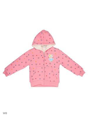 Куртка Sago Kids i Ant Domain. Цвет: розовый, бледно-розовый