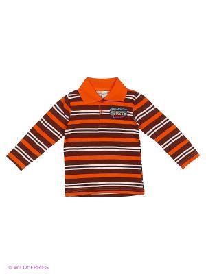 Лонгслив Bonito kids. Цвет: оранжевый