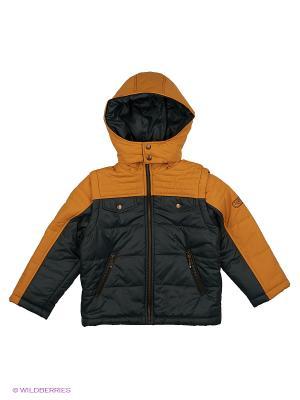 Куртка КАЛIНКА. Цвет: зеленый