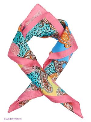 Платок Eleganzza. Цвет: розовый, синий, оранжевый