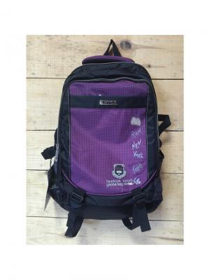 Рюкзак спортивный, цвет темно-фиолетовый, T8912, Town Gaoba. Цвет: темно-фиолетовый