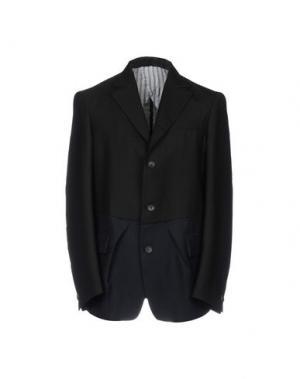Пиджак WOOSTER + LARDINI. Цвет: черный