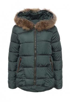 Куртка утепленная Z-Design. Цвет: зеленый